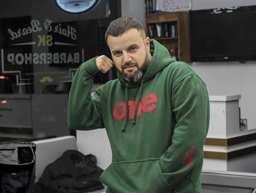 Български спортно елегантни мъжки дрехи ONE