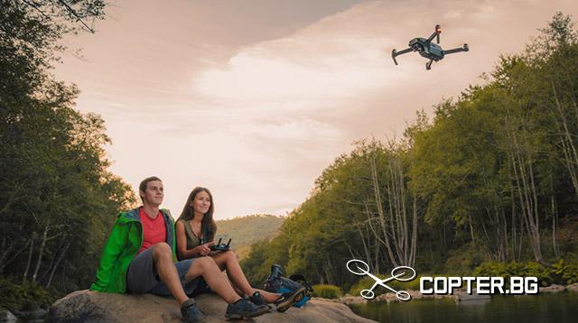 Дронът DJI Mavic Pro е най-новият, най-малкият, най-интелигентният, най-интригуващият и най-достъпният като цена дрон на DJI до момента.